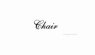Chair  ca H5 x B15 cm