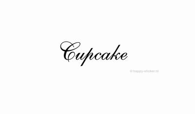 Cupcake  ca H5 x B20 cm