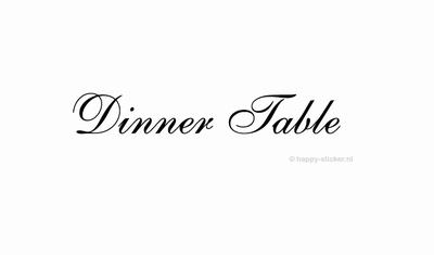 Dinner Table  ca H5 x B36 cm