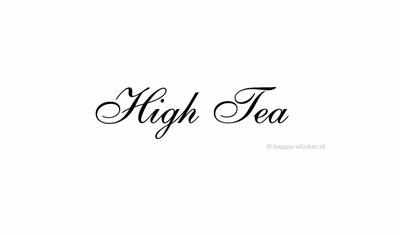 High Tea  ca H5 x B28 cm