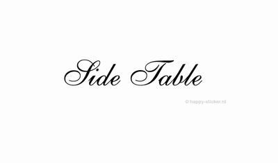 Side Table  ca H5 x B29 cm