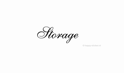 Storage  ca H5 x B20 cm