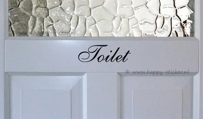 Toilet  ca. 5 cm x 15 cm