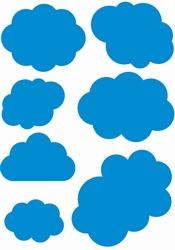 Stickervel Wolken