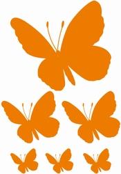 Stickervel Vlinders 3