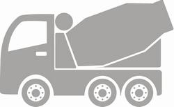 Bouw Betonwagen sticker
