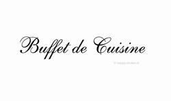 Buffet de Cuisine ca H5 x B41 cm
