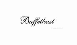 Buffetkast ca H5 x B26 cm