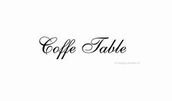Coffee Table ca H5 x B31 cm