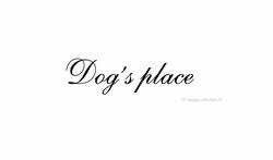 Dog's Place ca H5 x B31 cm
