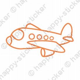 KidsART Vliegtuig Verschillende maten