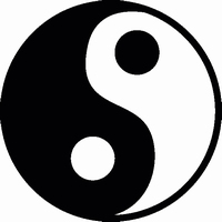 Yin Yang 15 cm